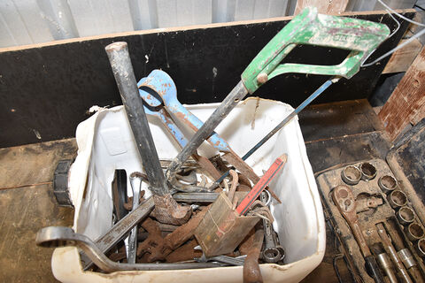 Assorted tools, Sidchrome socket set