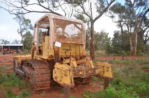 International TD15C Bulldozer
