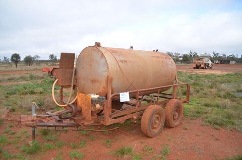 2400L Mobile Diesel Tank