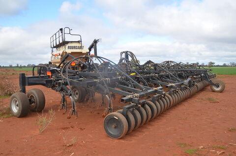 60ft Flexicoil 5500 Seeder