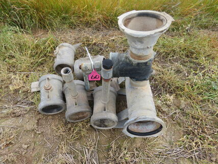 GAL PIPE FITTINGS, QTY OF