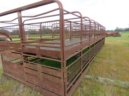 STOCK CRATE - 26 FT - DOUBLE DECK