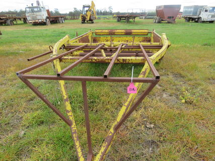 HAY FEED OUT CART