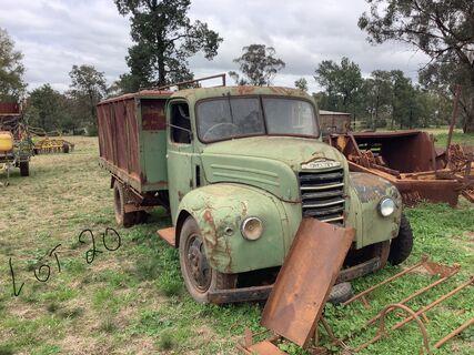 Fordson Thames tip truck