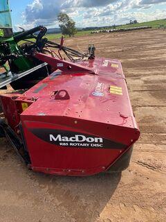 2017 Macdon R85 Mower Conditioner