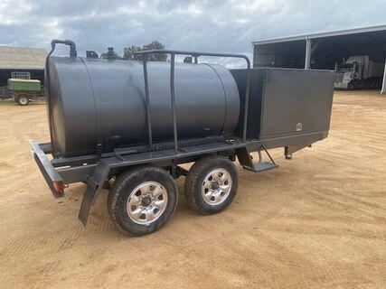 2200 liter Mobile Fuel Cart