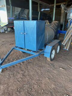 900 liter Mobile Fuel Cart