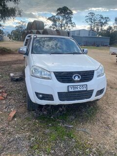2014 Great Wall Dual Cab Ute