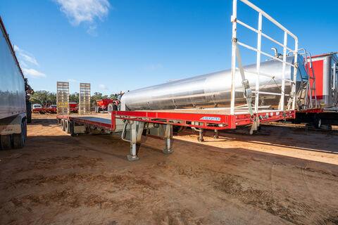 2008 Freighter 48ft drop deck trailer