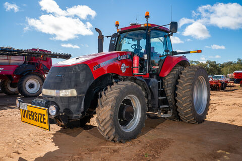 2013 Case IH MX290 AFS tractor
