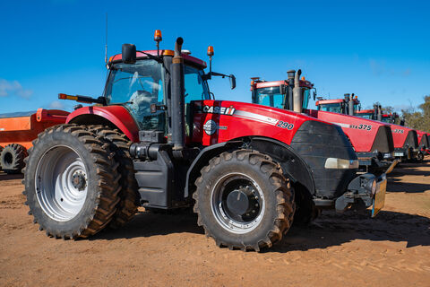 2012 Case IH MX290 AFS tractor