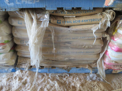1x pallet of Citric Acid Anhydrous (20kg bags)