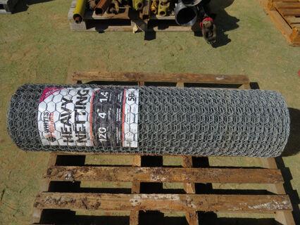 1x 50m roll of chicken wire