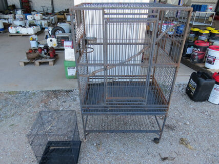 2x Bird cages