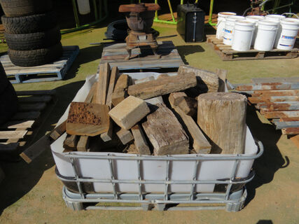 ½ Shuttle of timber workshop blocks