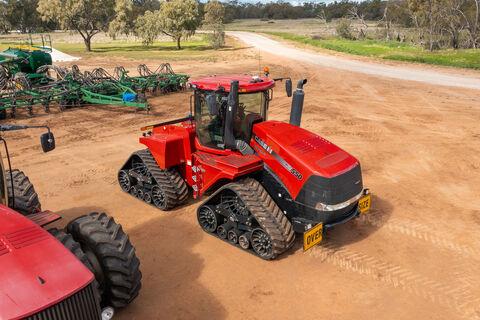2018 Case IH AFS 550 Quadtrac 550hp tractor