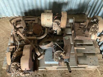 Copper 1 hp motors, 32v generator and flex drive