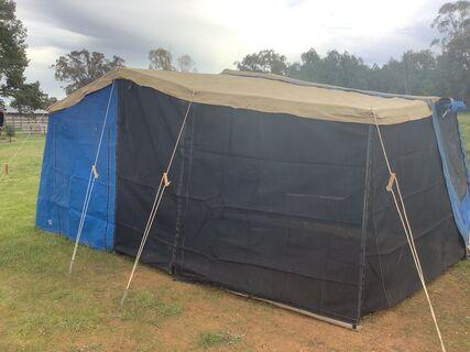 Challenge Outback camper trailer