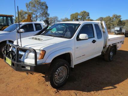 2012 Holden Colorado Space Cab 4WD ute