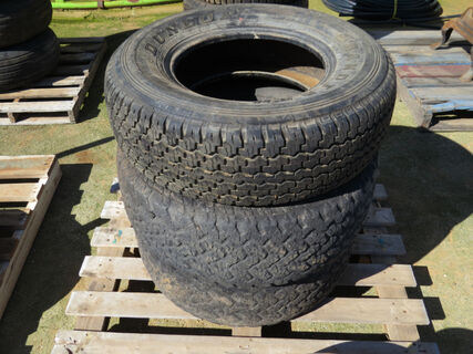 Pallet of tyres