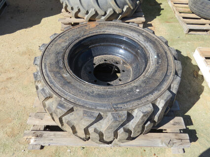 1x new rim and tyre to suit an 80ft DBS airseeder, Harvest 385/16-22.5 tyre