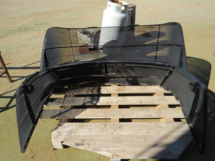 Pallet containing Case grills for an STX500 and STX550