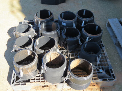Pallet consisting of pto shaft collars
