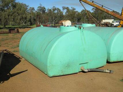 """RapidSpray 7000L poly tank with 3"""" outlet/gate valve (1)"""