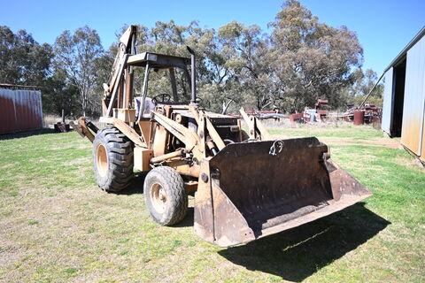 Case 580E SWL 1700kg backhoe