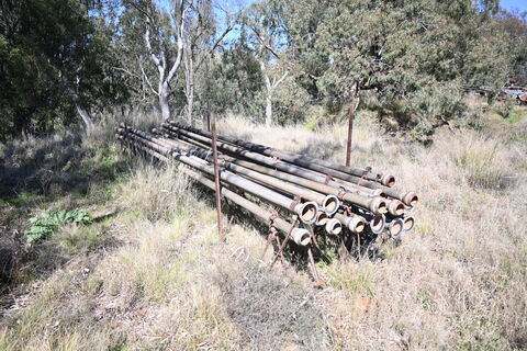 Irrigation Pipes * 21 lengths