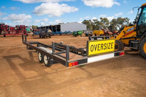 18ft Redline canola pick-up front trailer