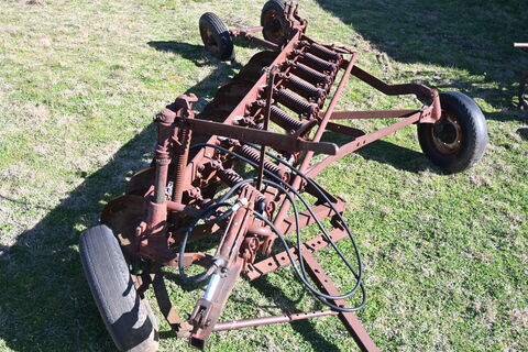 Old one way plough