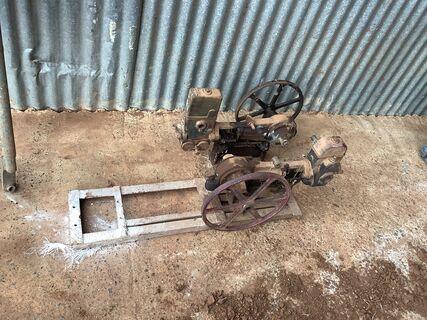 Piston water pumps