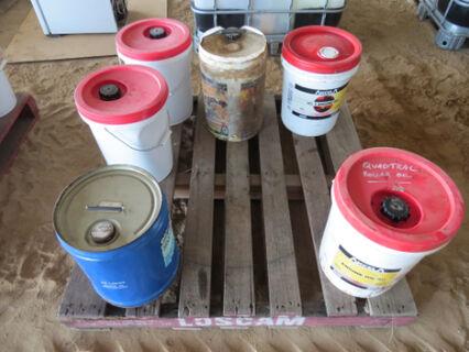 Pallet containing diesel engine oil (15W40, 15W/30, 10W/30)