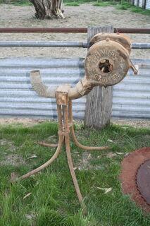 Blacksmith Air Pump for Fire Chute