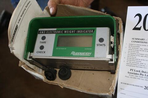 RUDD Weigh weight indicator