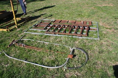 Calf pullers, cattle gates & weigh platform