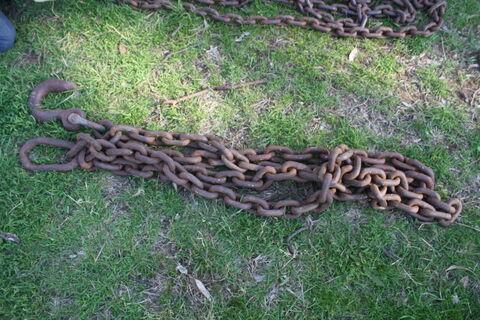 4m heavy duty drag chain & hook