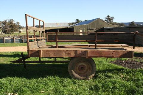 8x6' Tractor Trailer