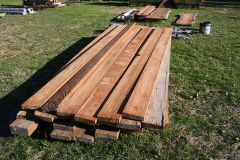 Ironbark timber (x34 lengths)