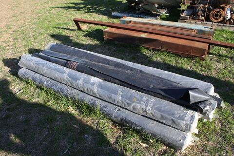 Poly sheeting (4mx15m) x 7 rolls