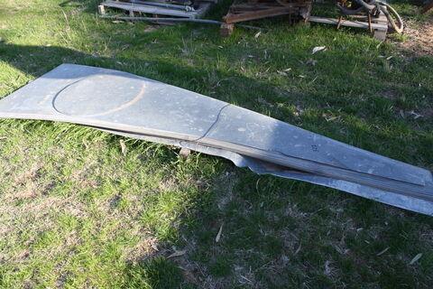 Silo base panels