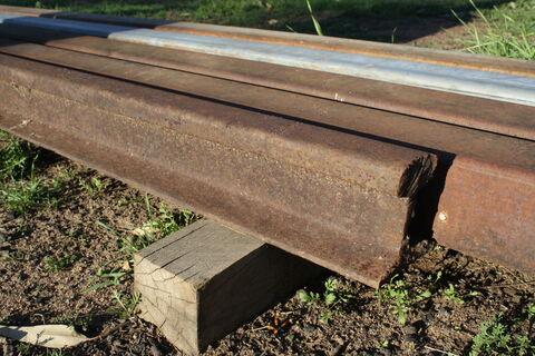 Railway Iron x 2 lengths