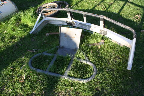 Quad bike bullbar