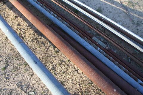 Metal piping - various sizes