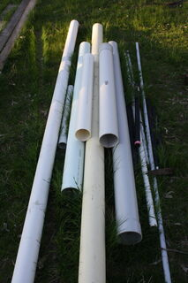 Assorted PVC lengths