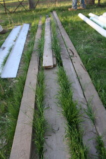 Assorted timber lengths