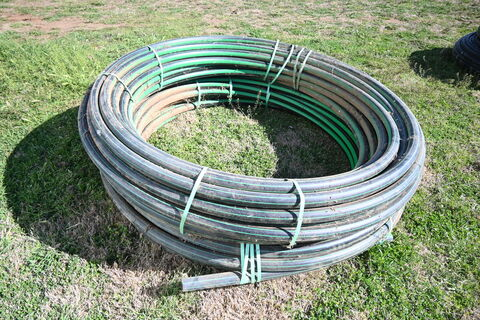Ag Poly Pipe - 2 rolls larger diameter
