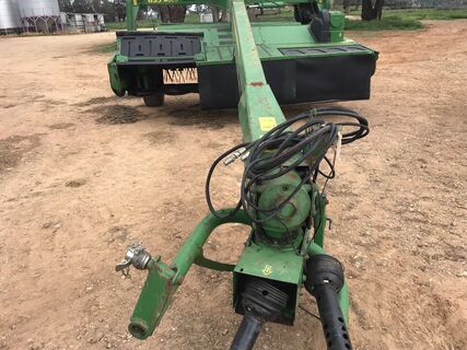 2010 John Deere MoCo 835 Steel Tined Flail Mower Conditioner