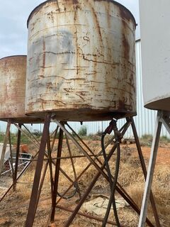 Standing Diesel Tank